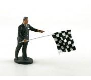 LE MANS miniatures Figure Leon, race director