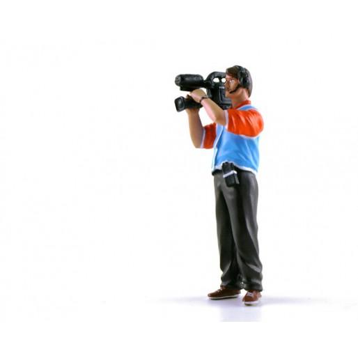 LE MANS miniatures Figurine Thierry, caméraman