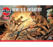 Airfix Vintage Classics - WWI U.S. Infantry 1:76