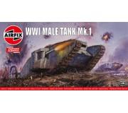 Airfix Vintage Classics - WWI Male Tank Mk.I 1:76
