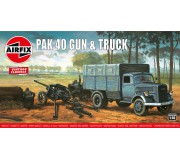 Airfix Vintage Classics - PAK 40 Gun & Truck 1:76