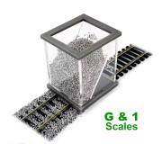 Proses BS-G1 Applicateur Ballast pour Echelles G & 1 (45 mm)