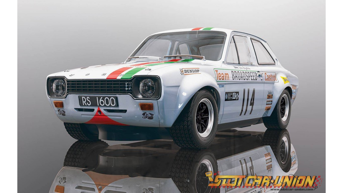 Scalextric C3924 Ford Escort Mk1 Brands Hatch 1971 Slot Car Union