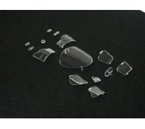 Slot.it CS02v Transparent Parts Porsche 956C / 956KH / 962C / 962 KH