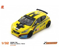 Scaleauto SC-6178B Peugeot 208 T16 Rally Cup Edition, Yellow