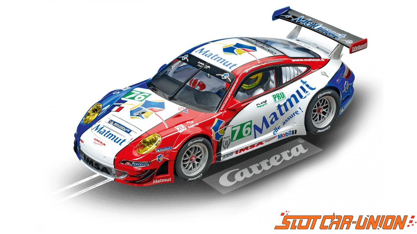 Carrera Digital 124 23863 Porsche 911 Gt3 Rsr Imsa Performance Matmut No 76 Slot Car Union