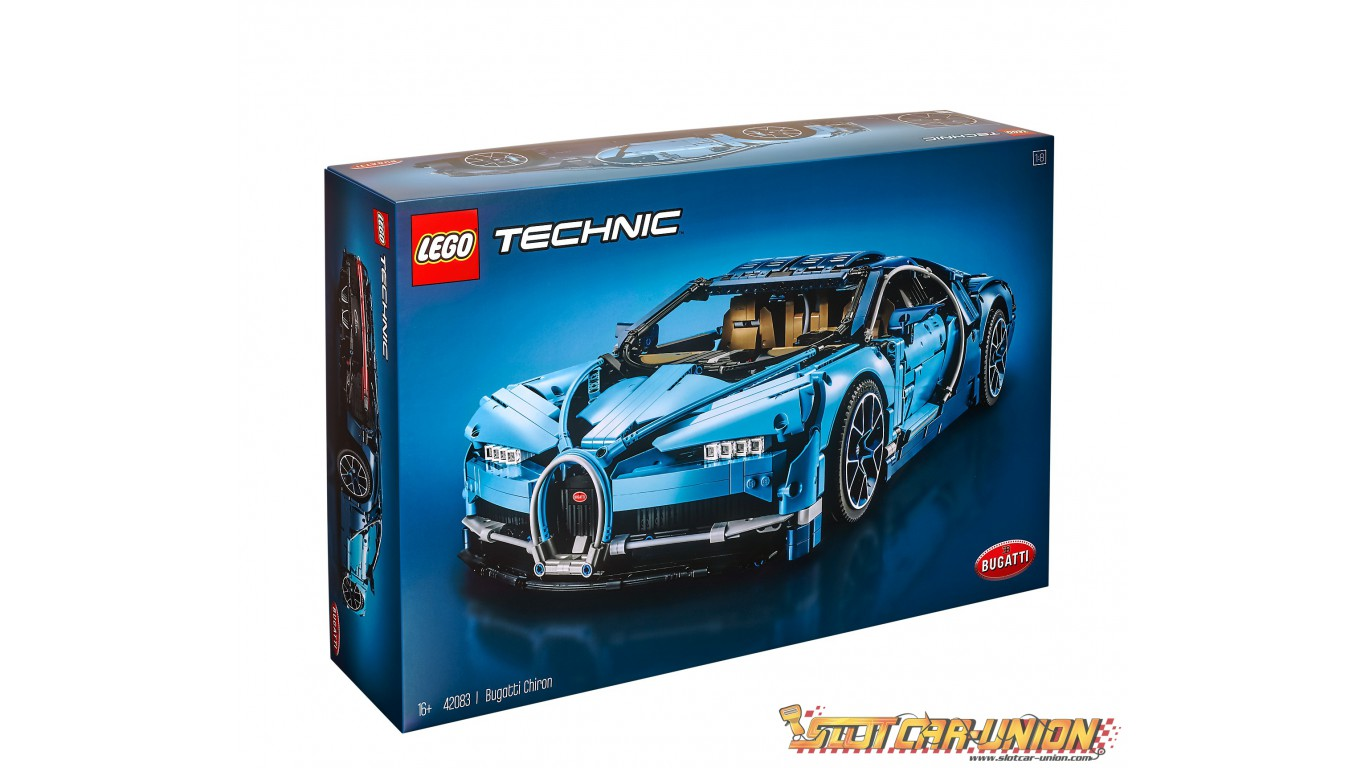 Lego 42083 Bugatti Chiron Slot Car Union