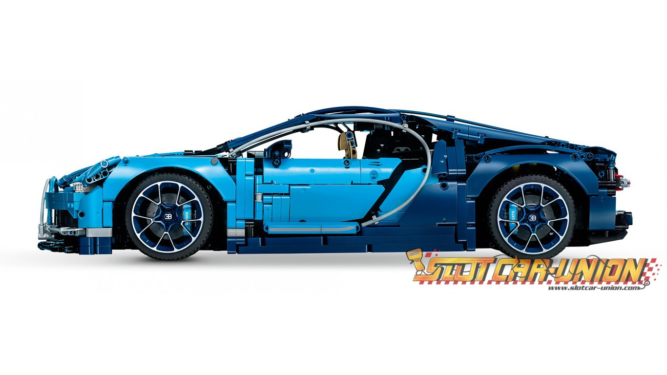 lego 42083 bugatti chiron slot car union. Black Bedroom Furniture Sets. Home Design Ideas