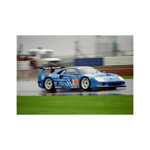 Policar Car03c Ferrari F40 N40 Silverstone 1995 Slot Car Union