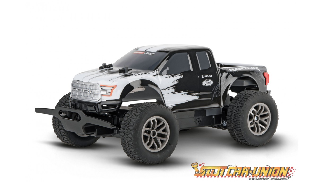 carrera rc ford f 150 raptor b w slot car union. Black Bedroom Furniture Sets. Home Design Ideas