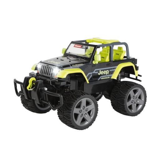 Carrera RC Jeep[R] Wrangler Rubicon, green