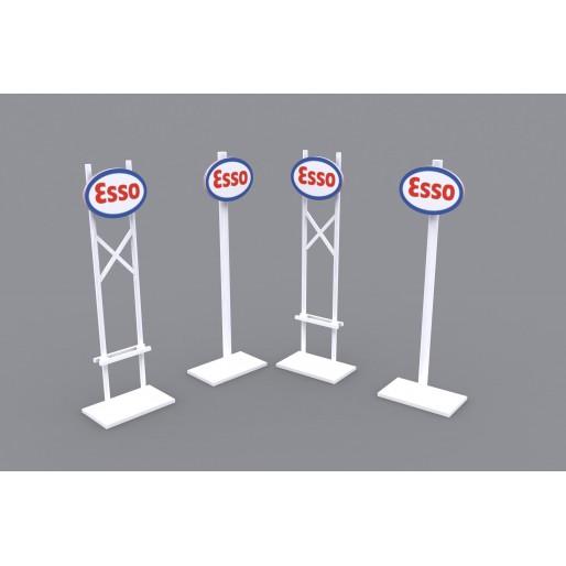 MHS Model SB-2 Series-1 Esso Billboards x2