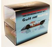Slotwings SETW002 Porsche 917K 1000Km Brands Hatch 1971 Set MARTINI contre GULF