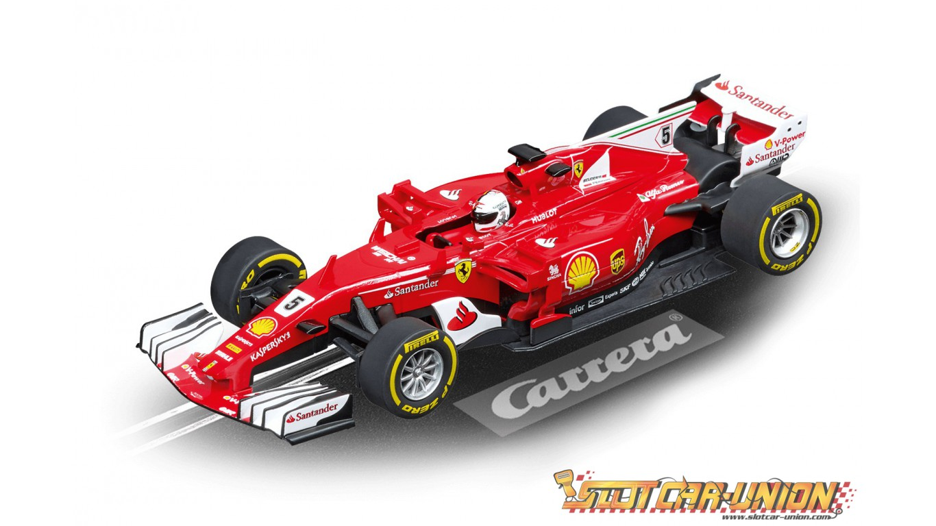 Carrera Evolution 27575 Ferrari Sf70h S Vettel No 5 Slot Car Union