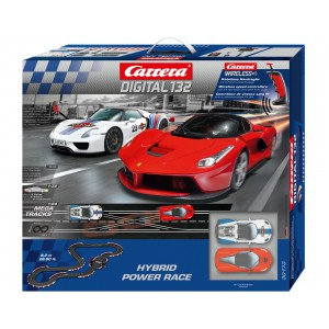 carrera digital 132 30173 hybrid power race set slot car. Black Bedroom Furniture Sets. Home Design Ideas