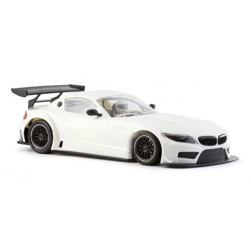 Nsr 1196aw White Kit Bmw Z4 King21 Evo3 Slot Car Union
