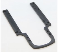 BRM S-509M Mustang aluminum body plate anodized