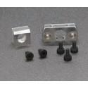 BRM S-512 Aluminum motor holder (2 pieces) + screws