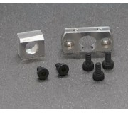 BRM S-512 Aluminum motor holder (2 pieces) + screws