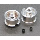 BRM S-402F FIAT 1000TCR - Front wheels with M3 screws x2