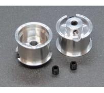 BRM S-402FR FIAT 1000TCR - Rear wheels with M3 screws x2