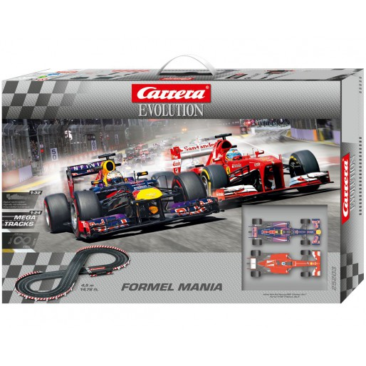 Carrera Evolution 25203 Coffret Formel Mania