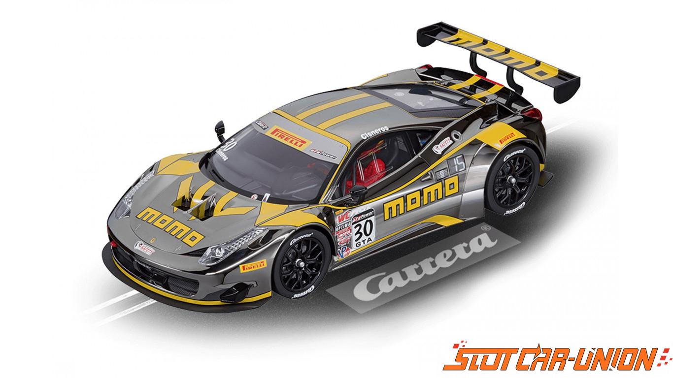 Carrera Digital 124 23865 Ferrari 458 Italia Gt3 Momo Ngt No 30 Slot Car Union