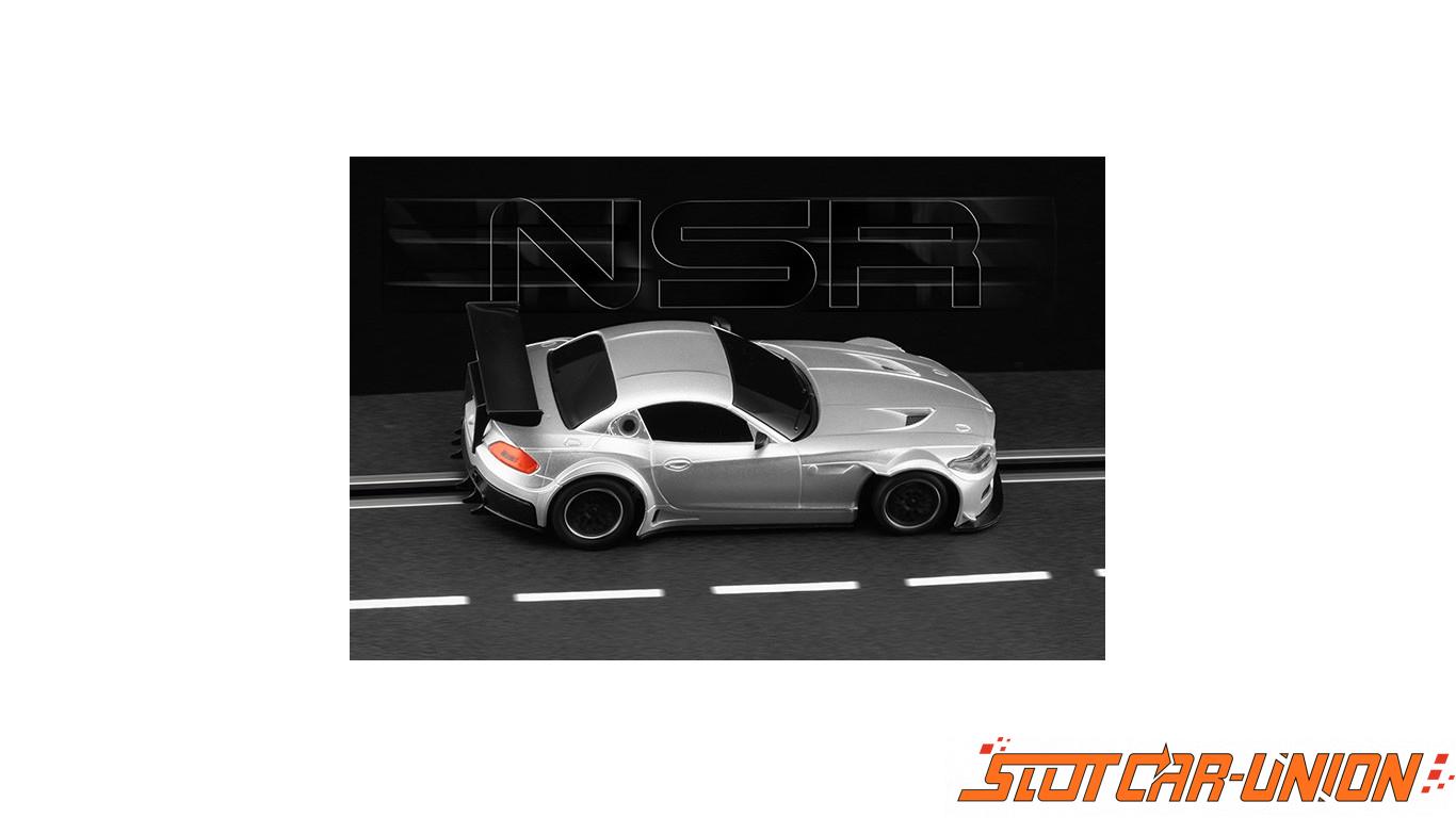 Nsr 1193aw Bmw Z4 E89 Test Car Silver Triang Aw King Evo3 Slot