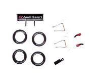 """Carrera GO!!! 88387 Spare Parts for Audi Teufel RS 5 DTM """"M.Molina, No.17"""""""