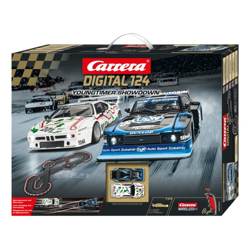 Carrera DIGITAL 124 23626 Youngtimer Showdown Set