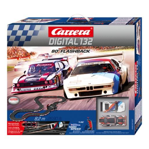 carrera digital 132  Carrera DIGITAL 132 30197 80' Flashback Set - Slot Car-Union