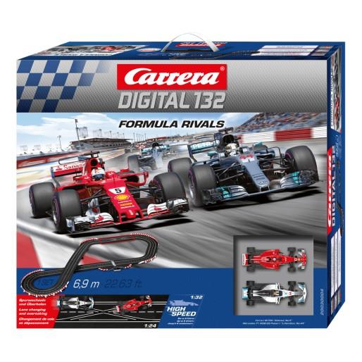 carrera digital 132  Carrera DIGITAL 132 30004 Formula Rivals Set - Slot Car-Union