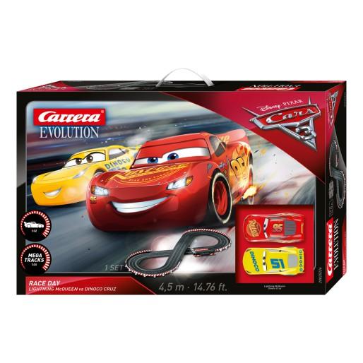 Carrera Evolution 25226 Coffret Disney/Pixar Cars 3 - Race Day