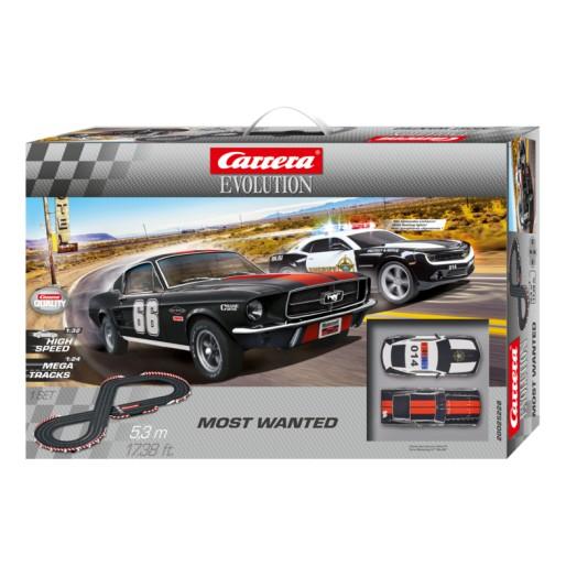 Carrera Evolution 25228 Coffret Most Wanted