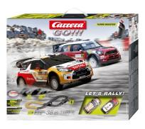 Carrera GO!!! 62433 Coffret Let's Rally!