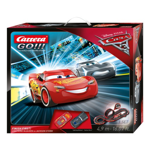 Carrera GO!!! 62418 Disney/Pixar Cars 3 - Finish First! Set