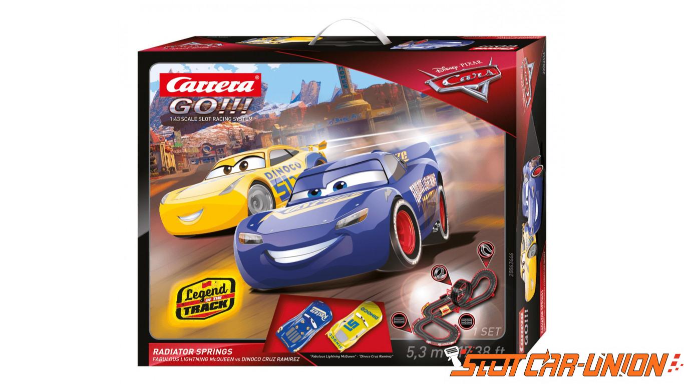 Carrera Go 62446 Disney Pixar Cars Radiator Springs Set Slot Car Union