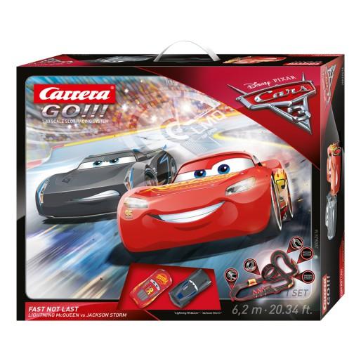 Carrera Go 62416 Disney Pixar Cars 3 Fast Not Last Set Slot Car Union
