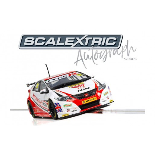 Scalextric C3783AE Autograph Series Honda Civic Type R - Gordon Shedden - Special Edition