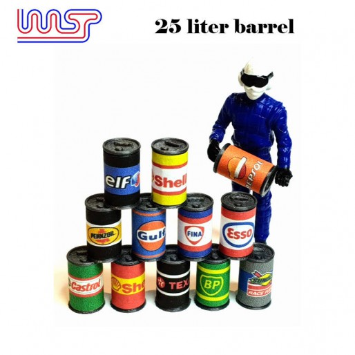 WASP 25 Liter Oil Drums