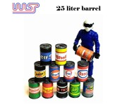 WASP 25 Liter Oil Drums