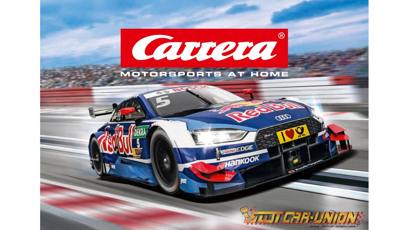 carrera catalogue 2018 2019 slot car union. Black Bedroom Furniture Sets. Home Design Ideas