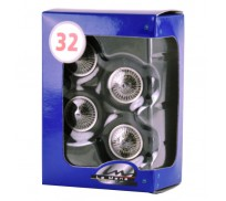 LE MANS miniatures Set of wheels type Bugatti 57 or 59