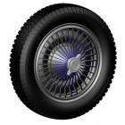 LE MANS miniatures Set of wheels type Bugatti 57 or 59
