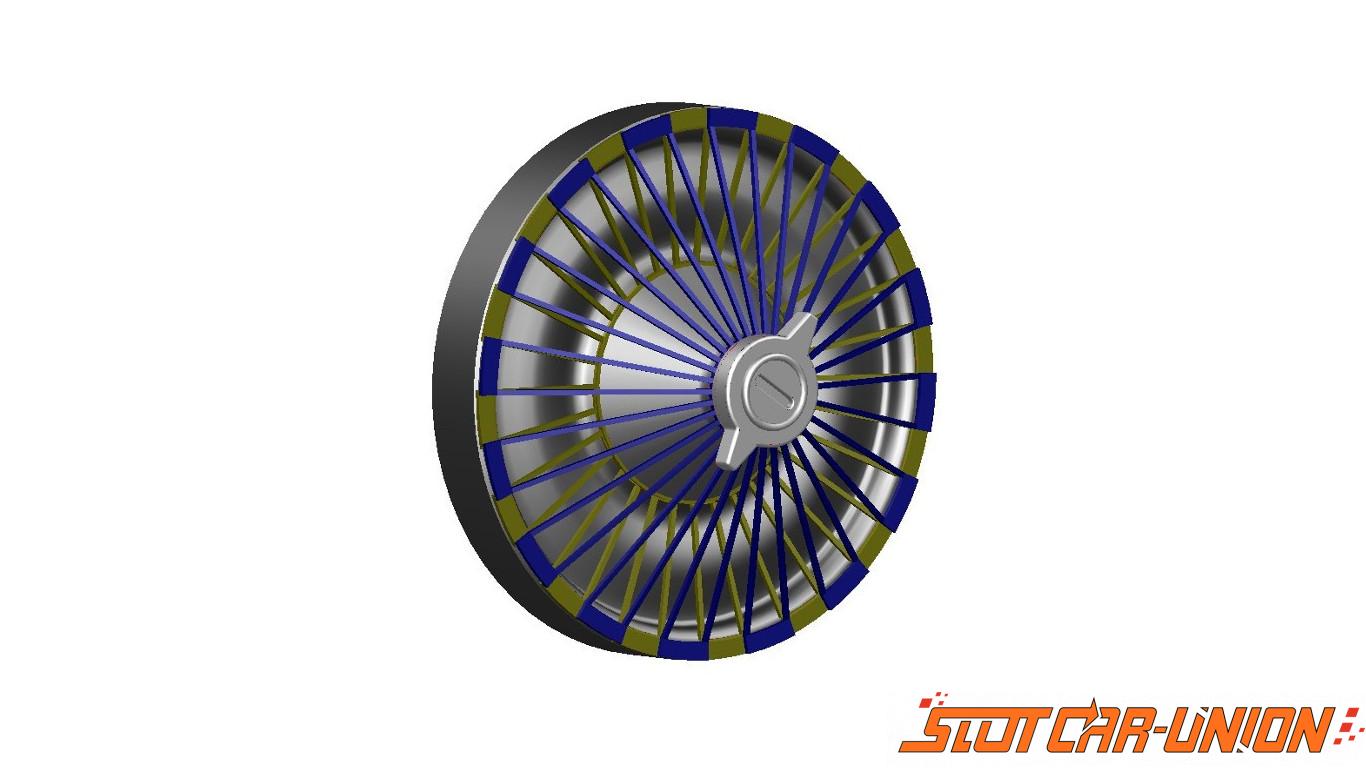 LE MANS miniatures Jeu de roues Bugatti 57G Slot car