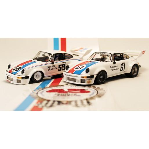 Slotwings SETW003 Porsche 934/5 Sebring 12h 1977 Set BRUMOS Limited Units