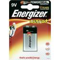 Piles 9V (6LR61) - Energizer Ultra+