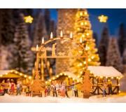 NOCH 14391 Arc d'entrée au marché de Noël
