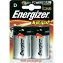 Piles D (LR20) - Energizer Ultra+ x2