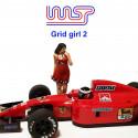 WASP Grid girl